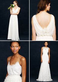 All J.Crew wedding dresses, accessories and bridesmaids dresses are on sale this weekend!!  Get the discount code at this link + happy shopping!