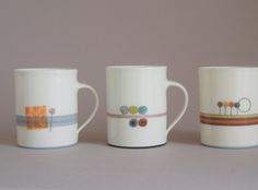 Beautiful mugs from James & Tilla Waters
