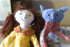 Abney and Teal dolls- for talented creative folk!