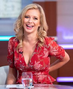 Countdown's Rachel Riley was left red-faced during her appearance on Thursday's Good Morning Britain, after she struggled to answer a basic maths question Rachel Riley Bikini, Helen Glover, Suzi Perry, Rachael Riley, Rachel Lindsay, Caroline Flack, Math Questions, Tv Girls, Good Morning Britain