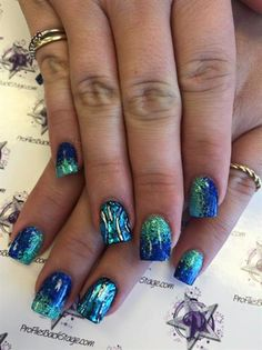 Nail foil by jeny14321 from Nail Art Gallery