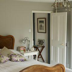 Farrow and Ball Hardwick white - north bedroom