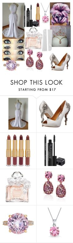 """Sem título #198"" by nunes-mirella on Polyvore featuring moda, Badgley Mischka, tarte, Rodial, Guerlain, Kate Spade, Crivelli e Bling Jewelry"