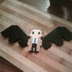 Castiel Supernatural hama beads by andrealeax