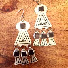 """Large about 3"""" long Berber earrings from morocco   $50  To order send payment securely by PayPal to  Sales@aprilstardavis.com  Shipping to USA UK $4    #berberjewelry  #moroccanjewelry #marrakech #morocco #aprilstardavis #berbernecklace #moroccannecklace #bohojewelry #authenticmoroccanjewelry #shopsmall #fashiontjatgivesback #bohostyle #berberring #boudin #bohorings"""
