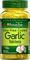 Coated Garlic Odor Free Tablets 100 Tablets 100 mg 9.99