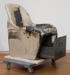 Joel Holmberg  Verner Panton Chair with Filing Cabinet,2012