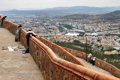 View from Cerro de La Bufa, Zacatecas, Mexico.