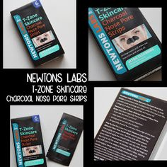 MichelaIsMyName: NEWTONS LABS T-ZONE Skincare Charcoal Nose Pore St...