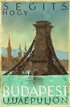 Budapest - 1945 posters vintage travel posters, tourism poster и vintage . Hungary Travel, Tourism Poster, Europe, New Travel, Vintage Travel Posters, Illustrations And Posters, Travel Couple, Budapest, Othello