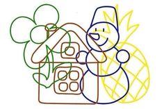 Z Numbers Preschool, Preschool Worksheets, Preschool Learning, Preschool Activities, Teaching Kids, Cute Powerpoint Templates, Hidden Picture Puzzles, Visual Perception Activities, Gross Motor Activities