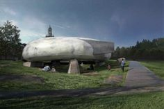 2014 Serpentine Pavilion / Cloud-Like Structure By Smiljan Radic