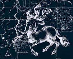 Constellation print Star map Zodiac print 125 by AstrologyZodiac, $10.99