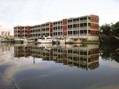 Water Street Hotel and Marina.