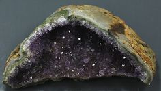 Amethyst Large portion of Cathedral Brazil by BandLMinerals