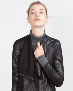 FAUX SUEDE OVERSHIRT-View All-OUTERWEAR-WOMAN | ZARA United States