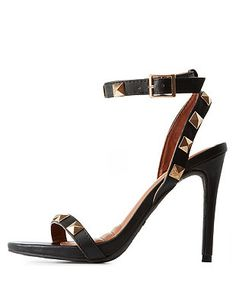 Dollhouse Studded Ankle Cuff Sandals: Charlotte Russe