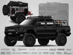 Looking to customize your Toyota? We carry a wide variety of Toyota accessories including dash kits, window tint, light tint, wraps and more. Overland Tacoma, Tacoma 4x4, Tacoma Truck, Toyota Hilux, Toyota Tundra, Toyota Tacoma, Lifted Tundra, Toyota Trucks, 4x4 Trucks