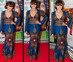 Nadia Buari Rocks Ankara Dress Styles - DeZango Celebrities Zone