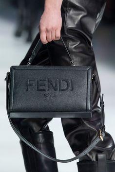 Fendi Fall 2020 Men's Fashion Show Details Luxury Purses, Luxury Bags, Luxury Handbags, Fashion Handbags, Fashion Bags, Men's Fashion, Hermes Handbags, Designer Handbags, Designer Shoes