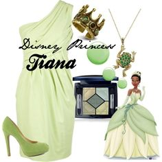 Disney Princess Tiana by amarie104 on Polyvore