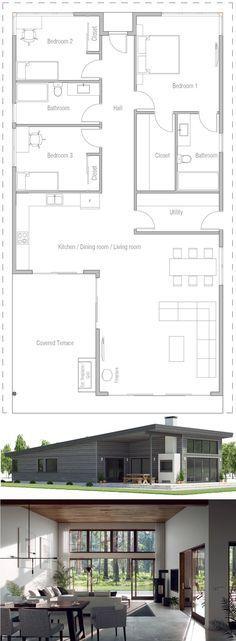 Home Plan, House Plans, Floor Plan #homeplans #houseplans #floorplans #architecture #newhomes #architecture