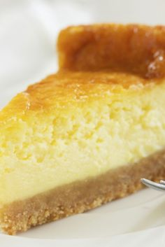 A traditional recipe for baked American cheesecake - very rich but delicious!