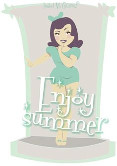 ©Isabel M. Gutiérrez  www.isabelmg.com    #illustration #pinup #pinupillustration #cuteillustration #adorable