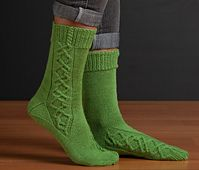 Ravelry: Emerging Cables Socks pattern by Stefanie Bold
