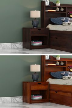 No intricate pattern, no complexity, just pure design- this is how Oretta bedside table is so popular among all. With its fine capacity and handy access to storage, the furniture hits the bar of convenience. Found in Sheesham, one will never question the quality. And along are the honey, teak, walnut and mahogany finish options that helps to fix the best furniture contrast. Cool Furniture, Bedroom Furniture, Wooden Street, Bedside, Teak, Contrast, Honey, It Is Finished, India