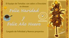 Tertulias con Sabor a Chocolate: OS DESEAMOS ¡FELIZ NAVIDAD!