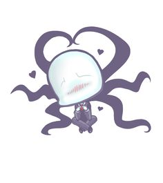 """""""...I can be cute too, right??"""" I'm really into creepypasta atm  Don't you just wanna huggle him? ^-^"""