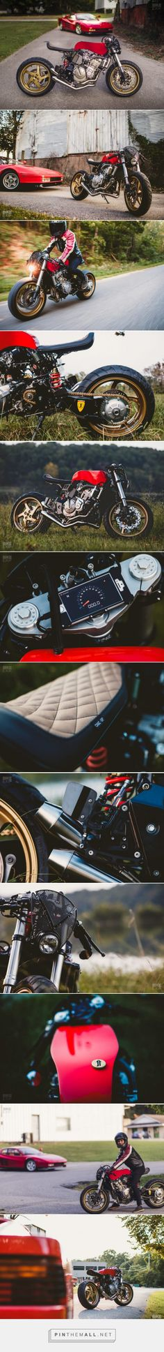 Rosso Corsa: A Honda Cafe Racer Inspired by a Ferrari | Bike EXIF - created on 2017-10-21 11:19:45