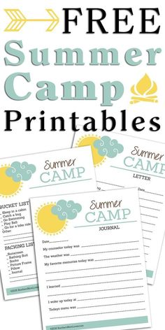 Summer is here and for all those parents with children going off to summer camp, I have some fun (free!) printables for you! Camp Letters, Letters For Kids, Letter To Parents, Free Summer, Summer Diy, Holiday Gift Guide, Holiday Ideas, Summer Camps For Kids, Printable Letters
