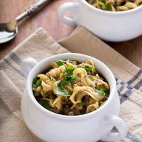 Homestyle Beef and Noodles - Total comfort food for Phase 1 (your family will love this one!) Get the recipe on our blog.