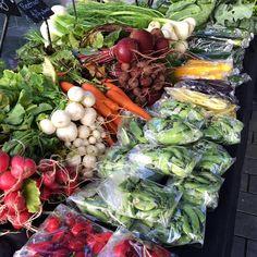 Fresh goods at the City Farmers' Market on at Takutai Square till 12.30pm  #farmersmarket #britomart #eatyourgreens by britomartnz