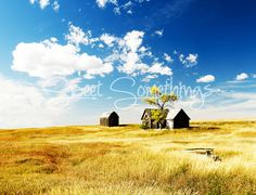 Landscape Photography Abandoned Farm  Wall Art by BeckyTDesigns, $20.00