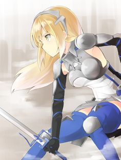 Aiz Wallenstein from DanMachi. My review/Reaction for ep 12 + predictions for the finale here : http://www.theyorouzoya.com/2015/06/DanMachi12.html