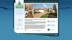 Bluewater Designs #WebsiteDesign by #SageIsland
