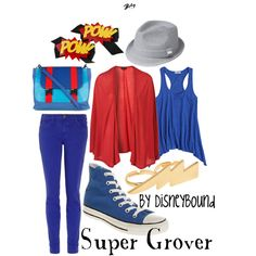 """""""Super Grover"""" by lalakay on Polyvore"""