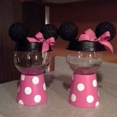 Minnie Mouse candy jars
