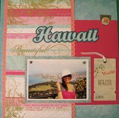 "**New DCWV ""Be Mine"" Stack** Hawaii (left) - Scrapbook.com"