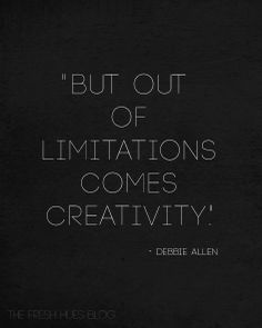 Sometimes limits, parameters, obstacles, blocks can be an inspiration.  Think sonnets!!