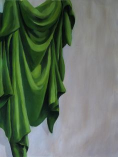 Green Drapery by Arkanthor
