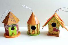 Autumn Birdhouse Decoration Ideas — craftbits.com