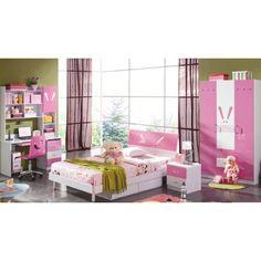 Elegant Pink Bedroom Set for Kids