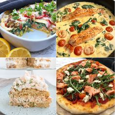 5 nemme tærter - til hverdag og til fest | Mummum.dk Fish And Meat, Vegetable Pizza, Bacon, Protein, Recipies, Fest, Vegetables, Inspiration, Spinach