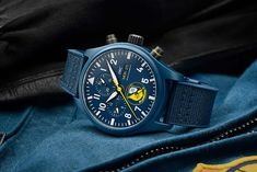 IWC - Pilot's Watches Chronograph U.S. Navy Squadrons Editions   Time and Watches   The watch blog