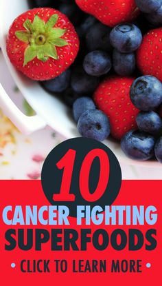 Superfoods to help decrease your risk for cancer according to Dr. Oz