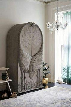3 Sublime Ideas: Furniture Makeover Industrial classic home furniture. Art Furniture, Unique Furniture, Furniture Makeover, Painted Furniture, Bedroom Furniture, Furniture Design, Furniture Showroom, Drawing Furniture, Luxury Furniture